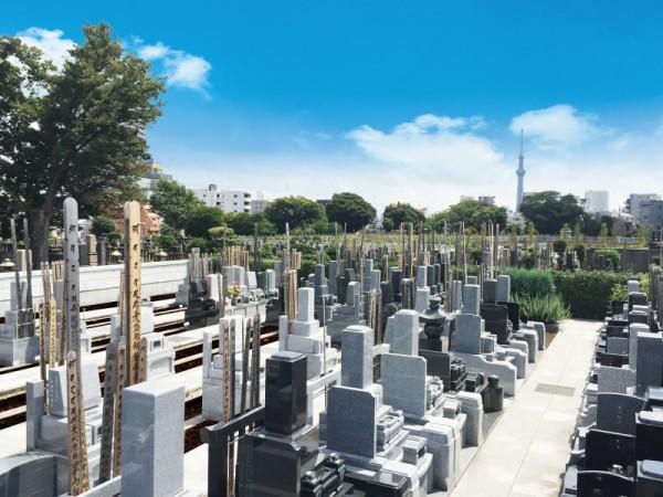 寛永寺墓地