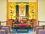 礼拝堂(仏式祭壇)