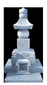 高級五輪塔(反り花加工)