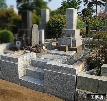 墓石リフォーム後の写真