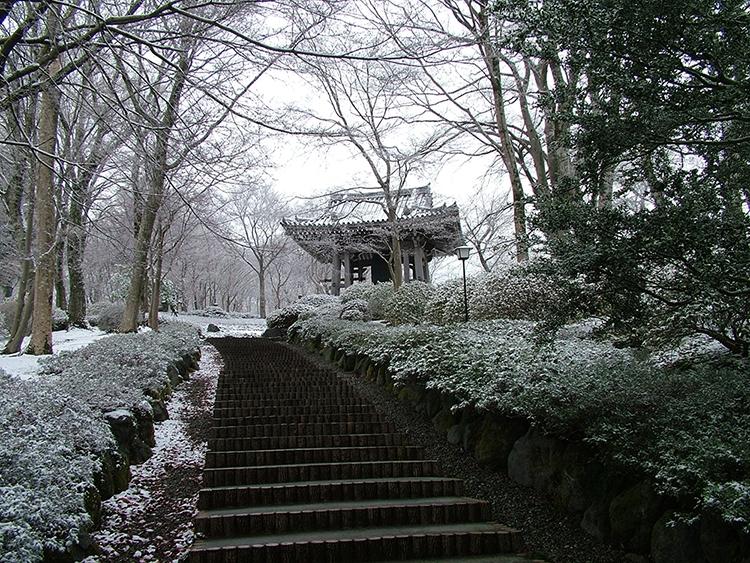 雪景色(鐘楼)