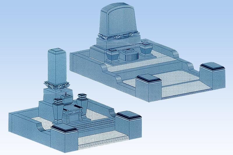 久遠福聚墓(一般石碑型:和型・洋型