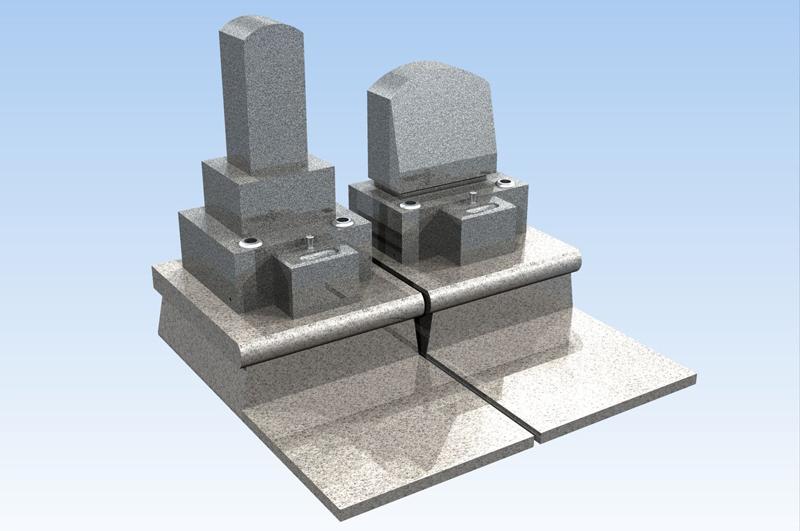 久遠孝養墓(一般石碑型:和型・洋型)