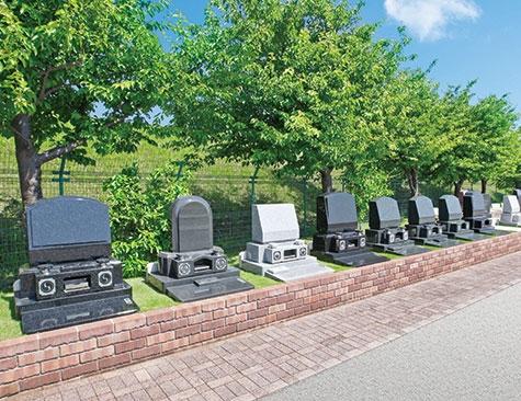 テラス墓地施工例