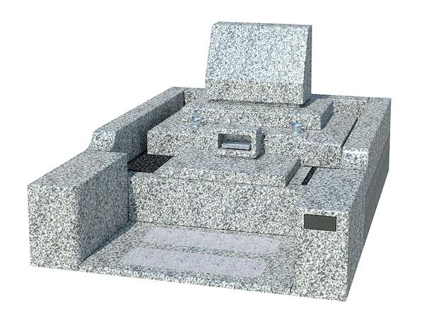 洋型墓所施工例
