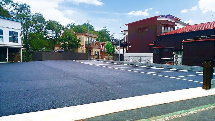 小平支店 駐車場
